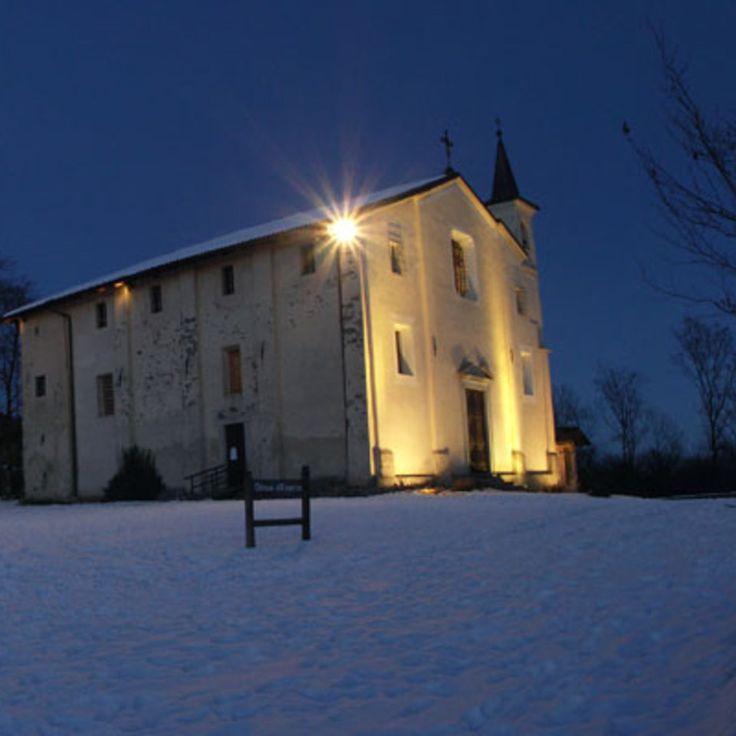 Santuario di Nostra Signora della Brughiera a Trivero - Biella | Scopri di più nella sezione Itinerari del portale #cittaecattedrali