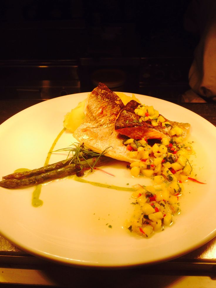 Seabream went down a treat over the weekend