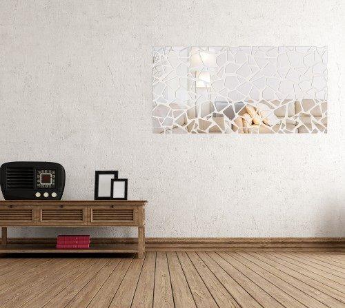 Nalepovacie dekoračné zrkadlo do interiéru