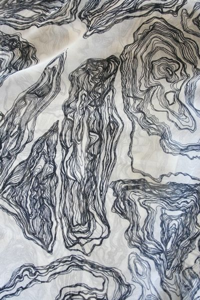 Mociun Hand Printed Fabric