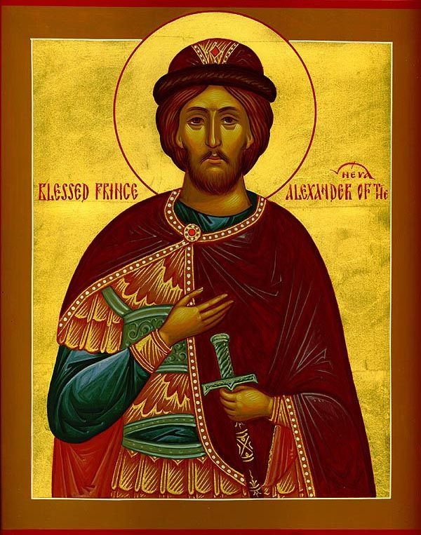 """""""Saint Alexander Nevsky became a Saint not because he was a wise ruler or a brilliant diplomat. He became a Saint because  being a head of the people and the state, his power was seen in ministry.   Positions at higher levels, which are associated with broad authority on which depends the destiny of the people, cannot be called work. This is not a job, it's a ministry...what he does will be linked with the blessing of the people...Saint Alexander Nevsky was such a leader...""""  (Patriarch…"""