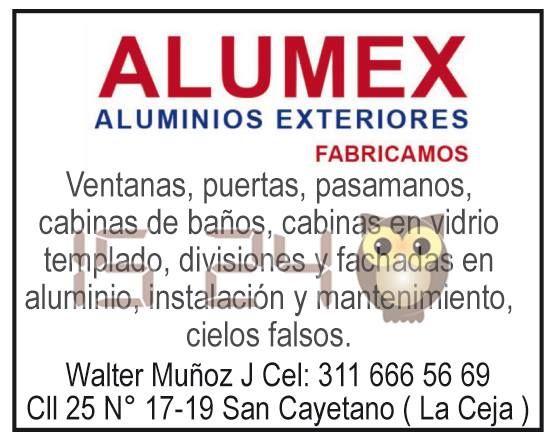 Alumex. Aluminios exteriores.