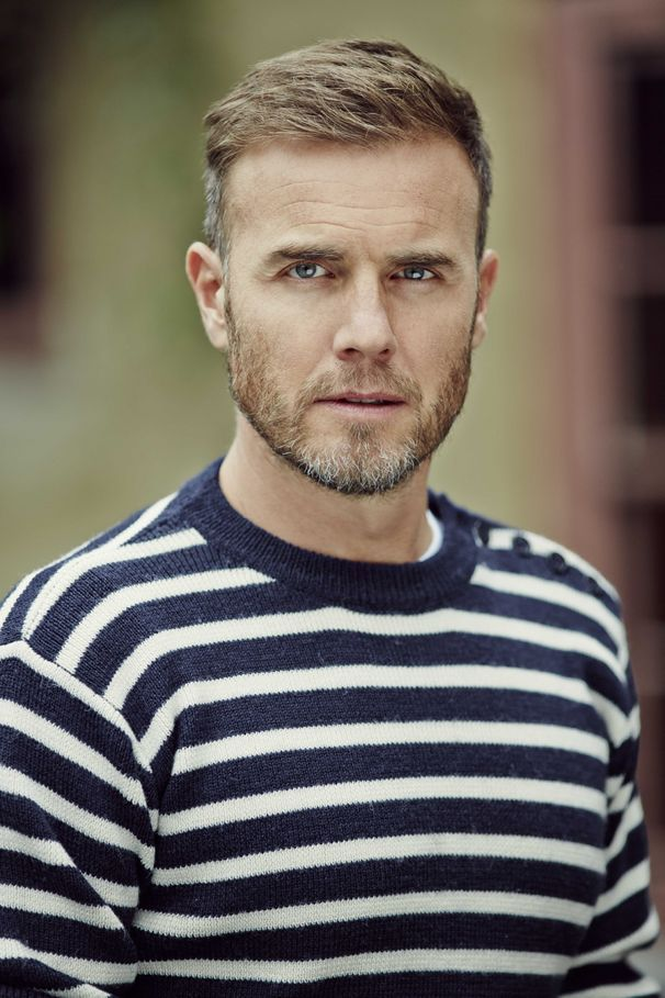 Gary Barlow ...In stripey top hotness #GaryBarlow #TakeThat #Photography