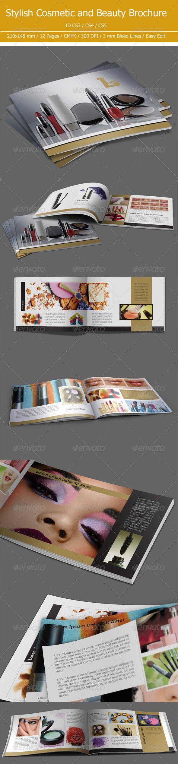 Cosmetic & Beauty Brochure