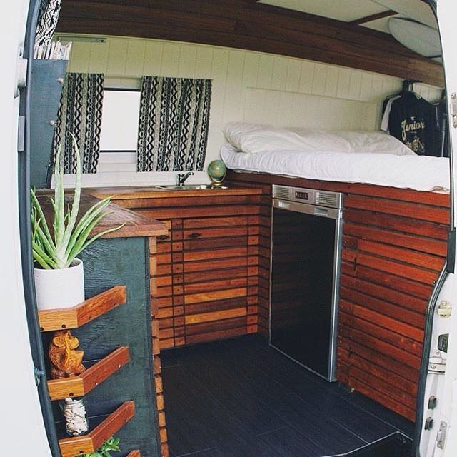 This Van Has A Great Layout For Multiple Travelers And Some Unique Storage Ideas Job Well Done By