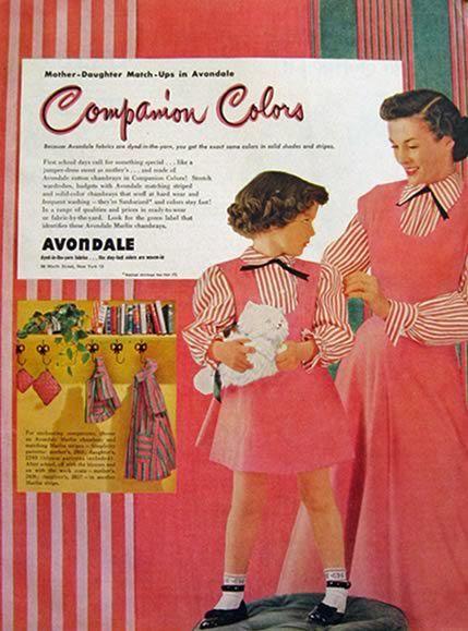 17 Best Images About Mother Amp Daughter Vintage Patterns On