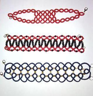 tatted bracelets
