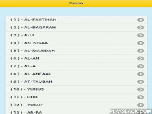 Der Heilige Koran  Android App - playslack.com , Der Heilige Koran.Lesen Sie hier den heiligen Koran auf Deutsch online und erhalten Sie Informationen zu den Übersetzungen.