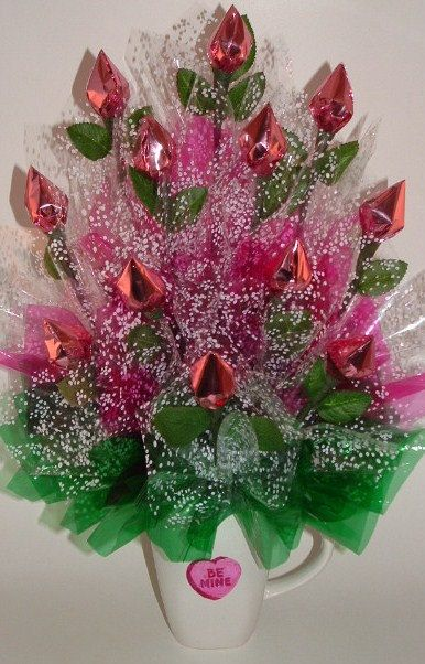 VALENTINE'S DAY Candy Bouquet SPECIAL One Dozen by CandyFlorist, $17.95