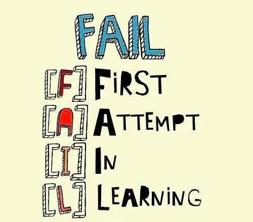 FAIL: First Attempt In Learning  https://twitter.com/AshjenJensen/status/364927029843460098/photo/1