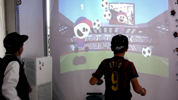 Installation Ludique Interactive #Kinect + #Adobe #AIR Developpement : Brother System http://www.brother-system.fr