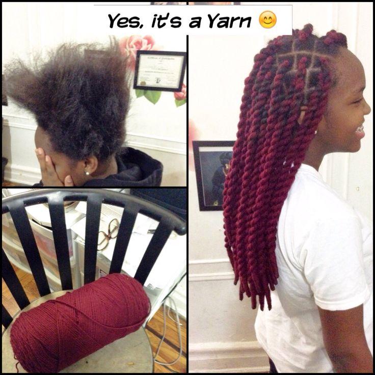 Yarn Twist babyyyyyy                                                       …