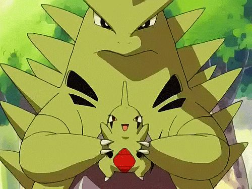 Just a baby Larvitar