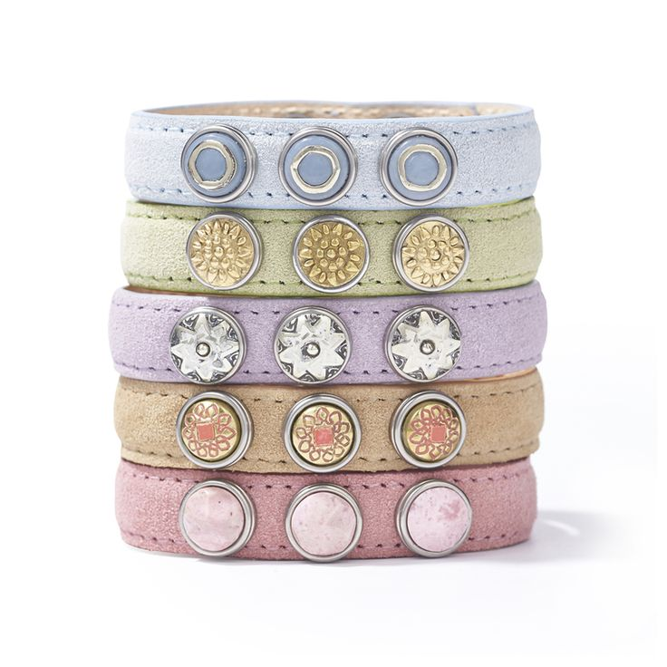 NOOSA Petite Pastel Bracelets   www.bijtij.nl