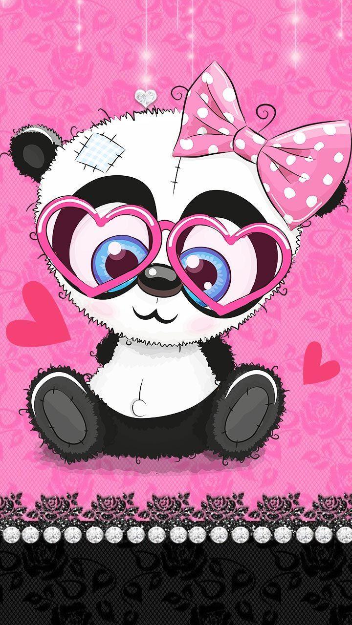Pink Baby Panda Theme Baby Panda Pink Theme Teddy Bear Tattoos Baby Panda Panda Background