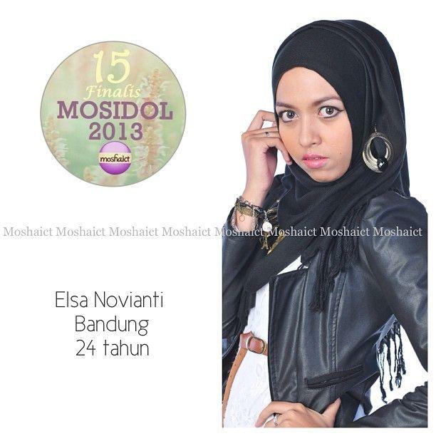 Elsa Novianti : 15 besar MosIdol 2013 #MosIdol2013 #moshaict #hijab #fashion #fashionhijab #islamicfashion | www.moshaict.com