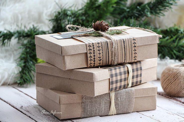 моё вдохновение: Упаковка подарка. МК.