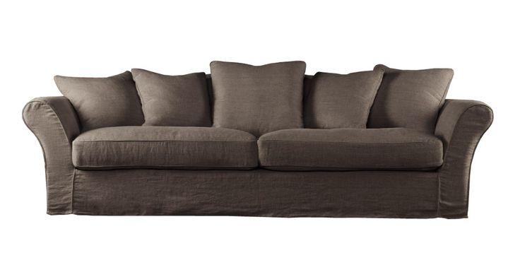 Метки: Большие диваны.              Материал: Ткань.              Бренд: Gramercy Home.              Стили: Скандинавский и минимализм.              Цвета: Темно-коричневый.