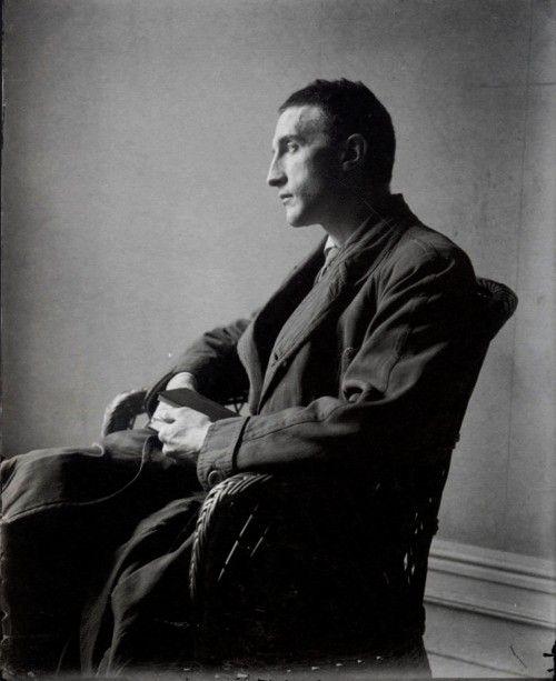 Marcel Duchamp. By Man Ray.