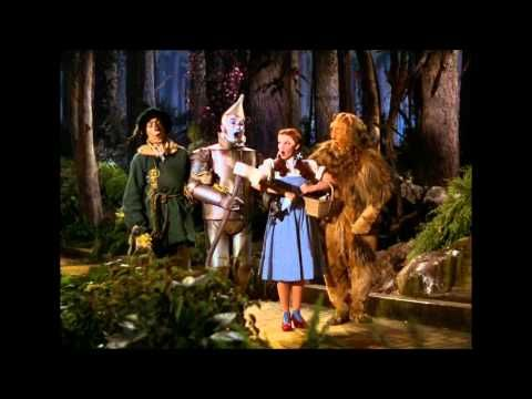 Bert Larh Ray Bolger Jack Haley  Judy Garland -  If I Only Had The Nerve