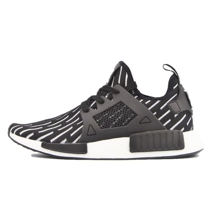 "2016 adidas Originals NMD XR1""black white"" S81532 Mens shoes"