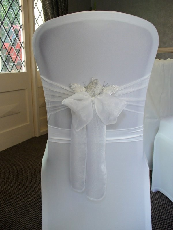 something different on chair covers