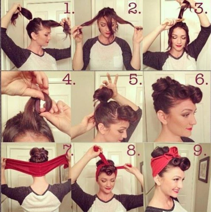 I may have pinned this.... But needing to learn how to do these for the different decades theme for camp!