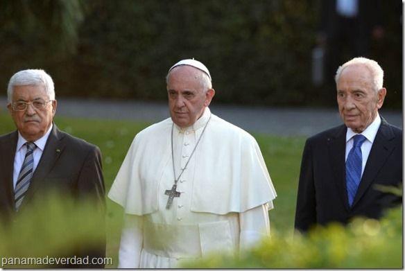 El Papa Francisco llamó a los líderes de Israel y Palestina - http://panamadeverdad.com/2014/07/18/el-papa-francisco-llamo-a-los-lideres-de-israel-y-palestina/