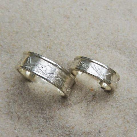 Обручальные серебряные кольца с горами для сноубордистов:) выполнено на заказ #weddingrings #silver #mountains #customjewelry