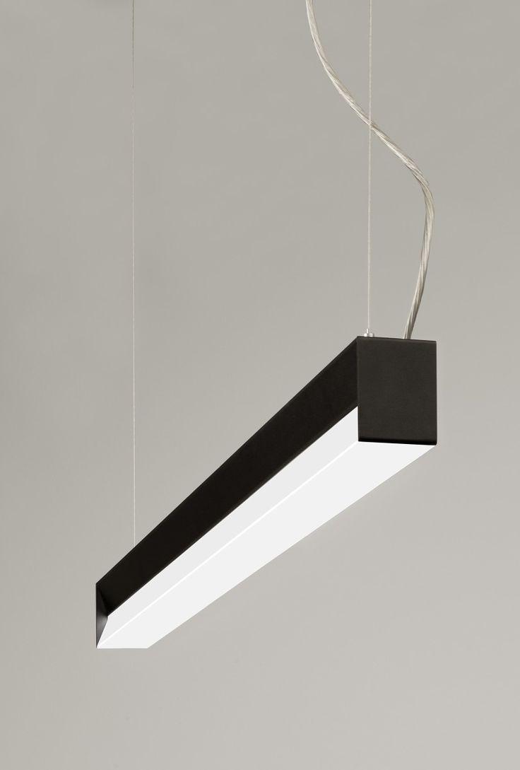 SANT. An aluminium linear LED #luminaire. www.halla.eu/sant