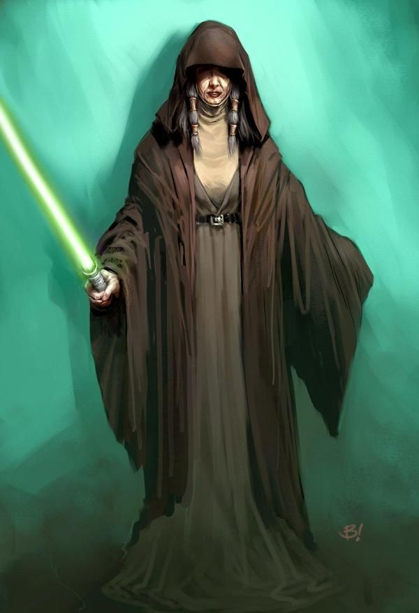 Kreia seemed at first to be just a mysterious old Jedi lady with some strange theories about Jedi doctrine.  Turns out she's a big, bad, Sith.  Just one of the characters that made KOTOR 2 the best Star Wars storyline ever.
