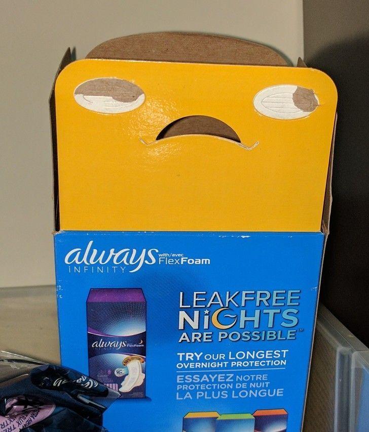 """""""Quand un packaging fait la tête"""""""