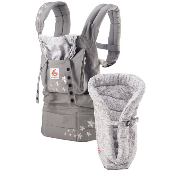ERGO Baby Carrier Bundle of Joy - Original Galaxy Grey with Galaxy