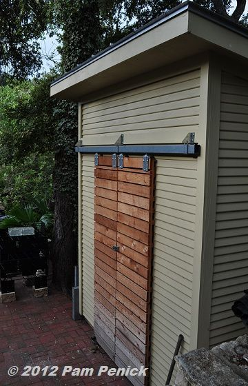 Shed door idea digging gardening wisely beautifully in for Narrow barn door