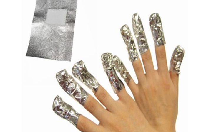 How To Remove Acrylic Nails Painlessly With Acetone At Home Take Off Acrylic Nails Remove Acrylic Nails Soak Off Acrylic Nails