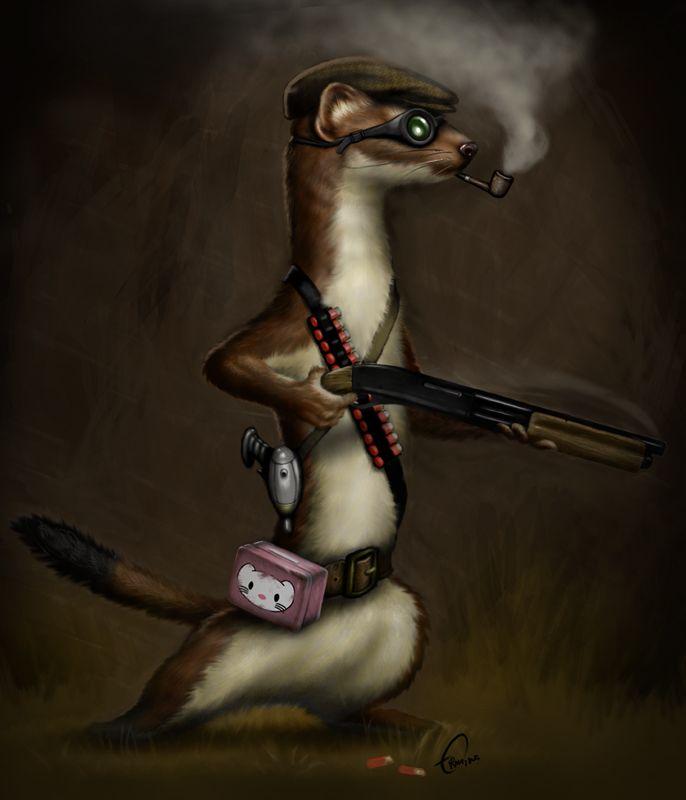 #apocalyptic #weasel