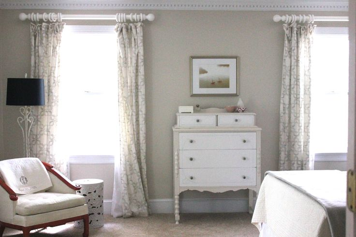 Bm Edgecomb Gray Marya Karlton Bedrooms Pinterest Curtains Gray And Hallways