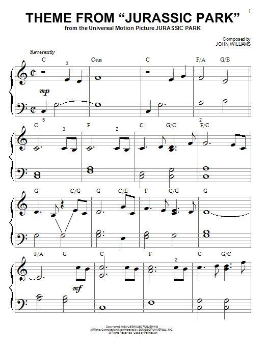Beliebt Les 25 meilleures idées de la catégorie Jurassic park piano sur  GA06
