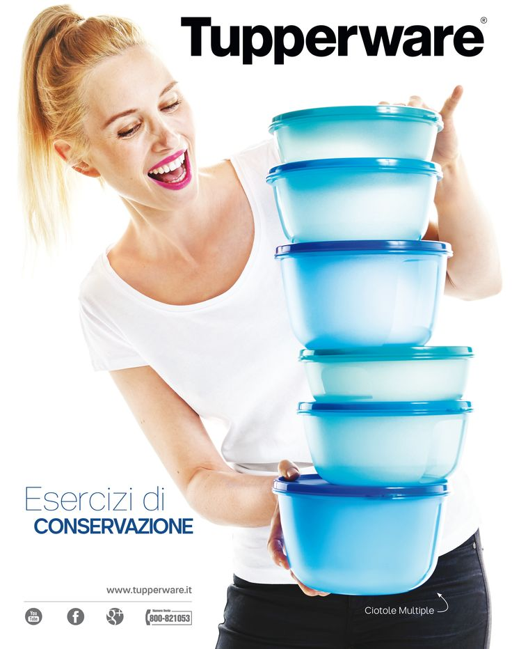 L'equilibrio in cucina con  Tupperware!