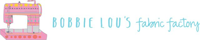 Charm About You: Bobbie Lou's fabric factory ~ Giveaway! ⭐