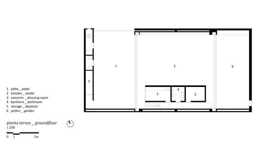 Studio R,Ground Floor Plan