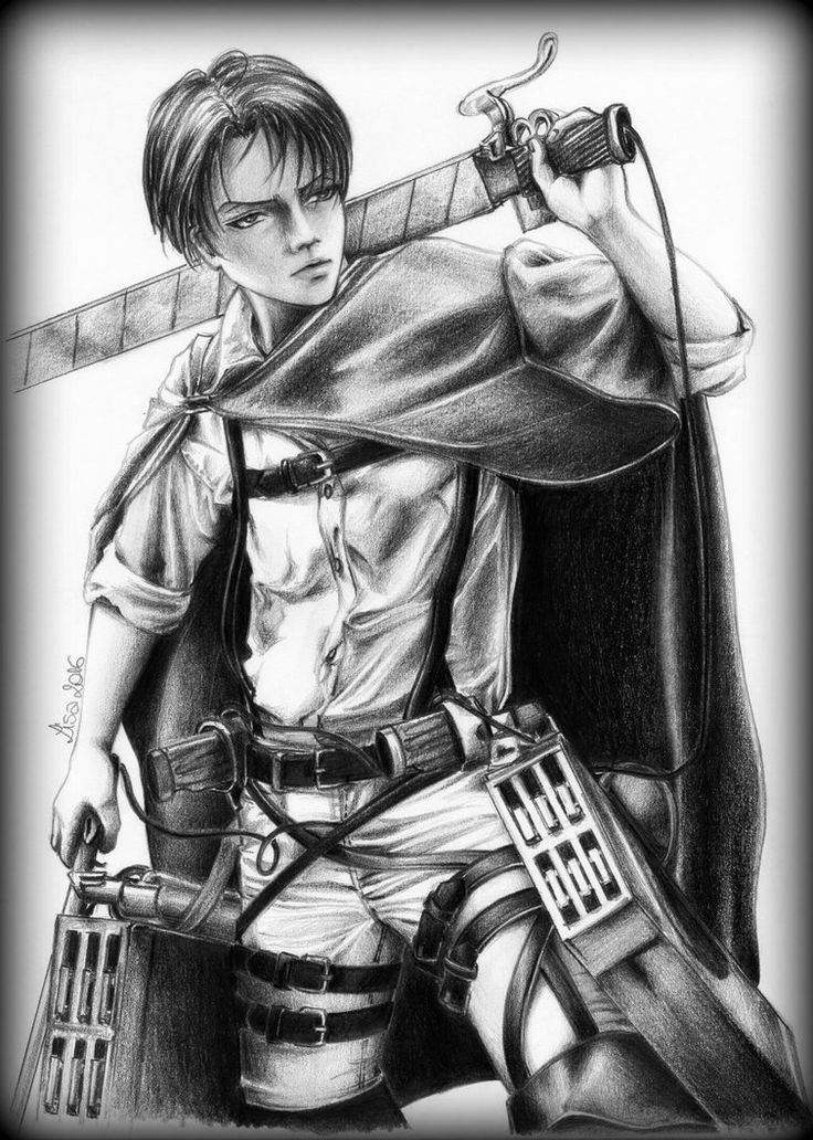 Rivaille heichou - ready to fight!!!