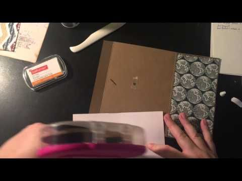 This guy has GREAT Mini Album Tutorial for newbies-start to finish - Part 9 - Page 9 - YouTube ...there are several parts to his, but I am just getting into making mini albums and from what I saw he explains everything as you go along