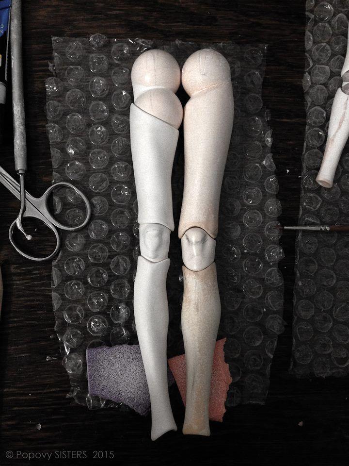 Afbeeldingsresultaat voor bjd doll knee joints