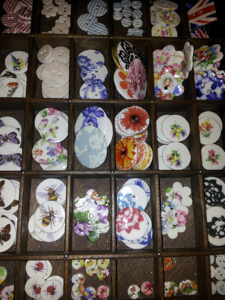 Kate Holliday's handmade buttons