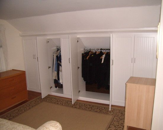 Closet Eaves Design, Pictures, Remodel, Decor and Ideas - page 2