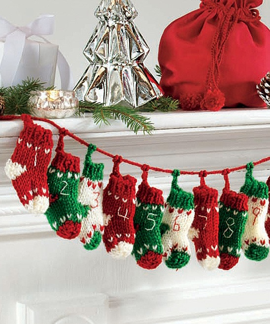 Knitting Pattern Christmas Advent Calendar : 1000+ images about Knitting on Pinterest Advent calendar, Patterns and Todd...