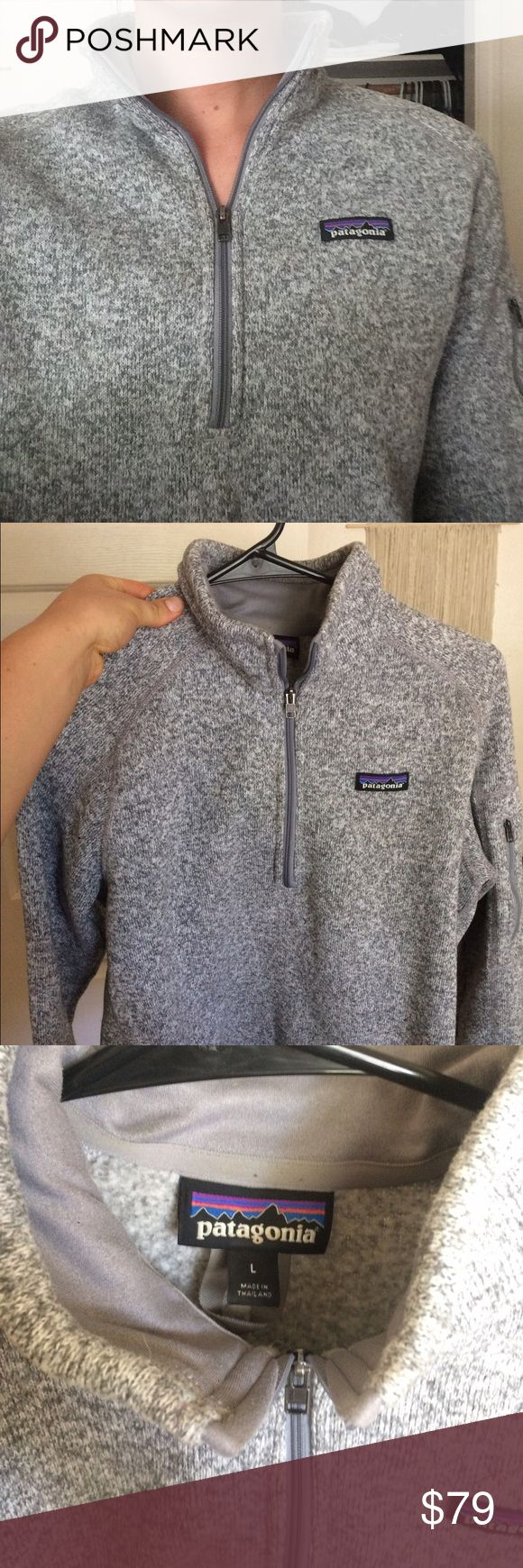 Patagonia Better Sweater Size L This sweater is awesome, barely worn, hardly any pilling Patagonia Jackets & Coats