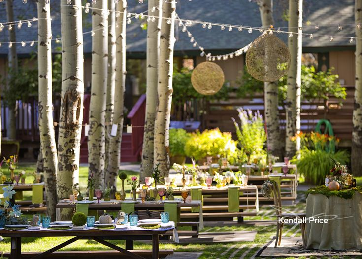 Chris And Ashley Chose To Have Their Bohemian Wedding At Aspen Grove In Lake Tahoe It Was The Perfect Venue For With Trees