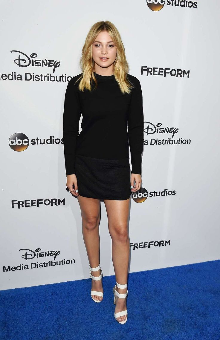 Olivia Holt at the ABC International Upfronts 2017, Burbank (2017)